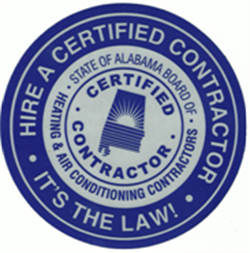 Alabama Board of Heating and Air Conditioning Seal